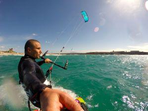 Kiteboarding SUP