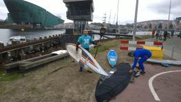 Bereit fürs Race HISWA Amsterdam 2016