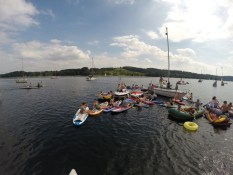 Stand Up Paddling Junggesellenabschied