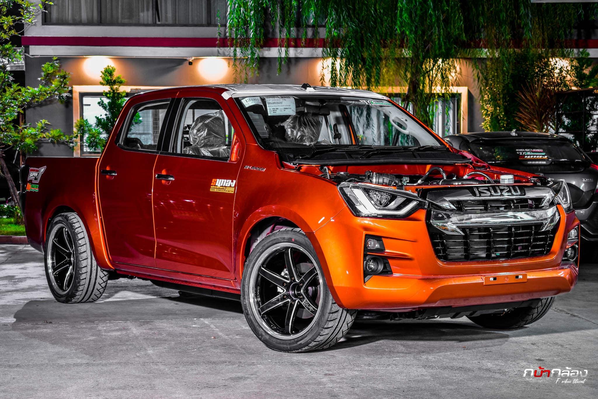 all new isuzu d max 2020 orange 01