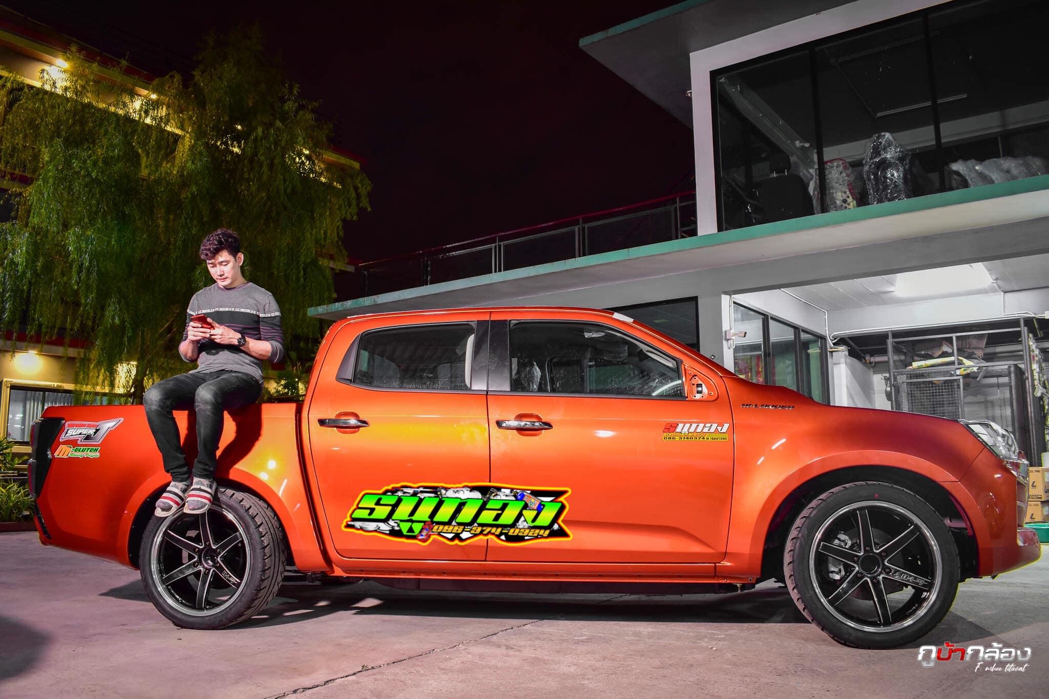 all new isuzu d max 2020 orange 05