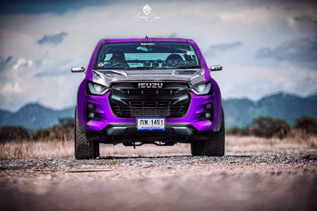 all new isuzu d max 2020 violet