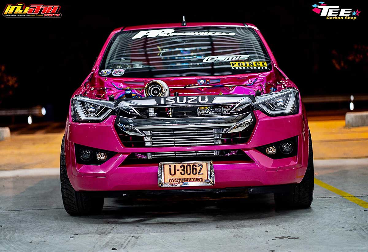 all new isuzu dmax 2020 face pink 013