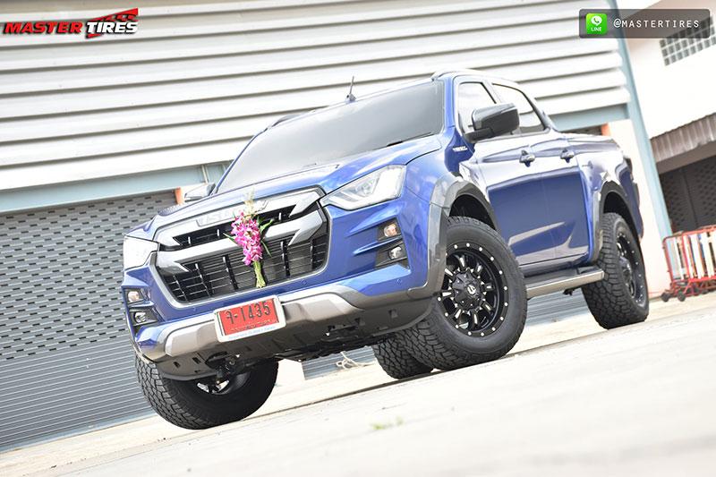 all new isuzu dmax vcross blue 02