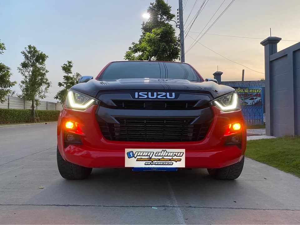 all new isuzu red 04