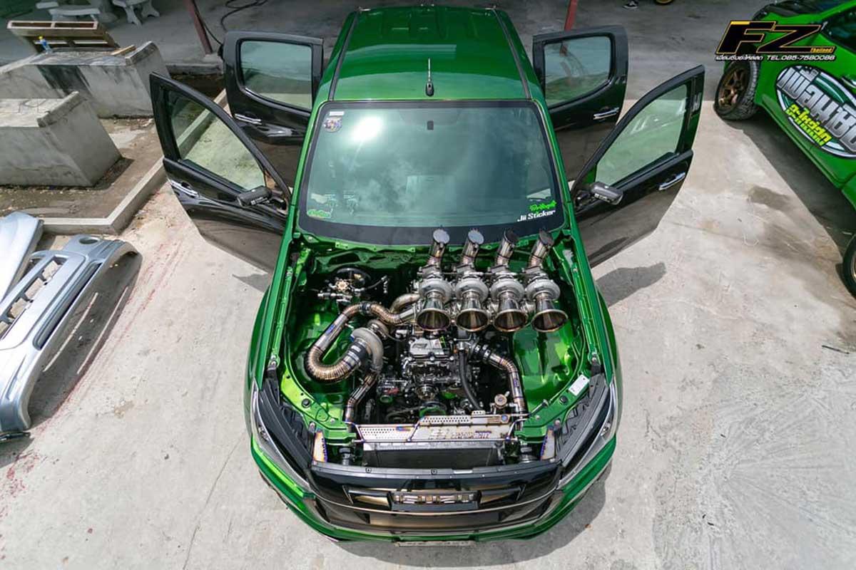isuzu dmax to all new turbo 0000