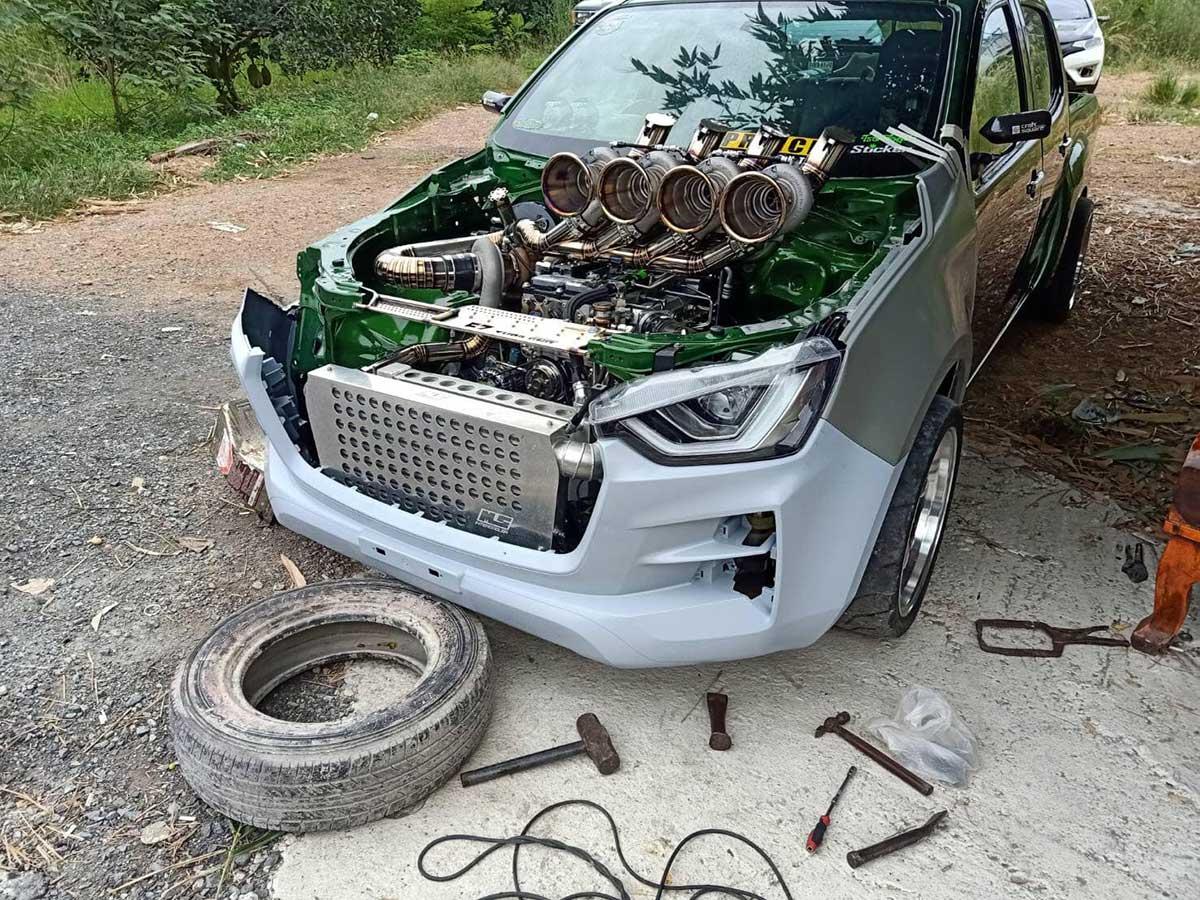 isuzu dmax to all new turbo 03