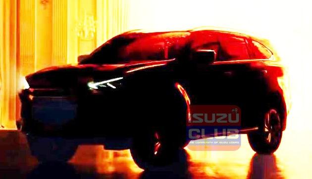 All new ISUZU MU-X 2020