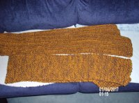 Scarves for Special Olympics WY knitting and crochet ...