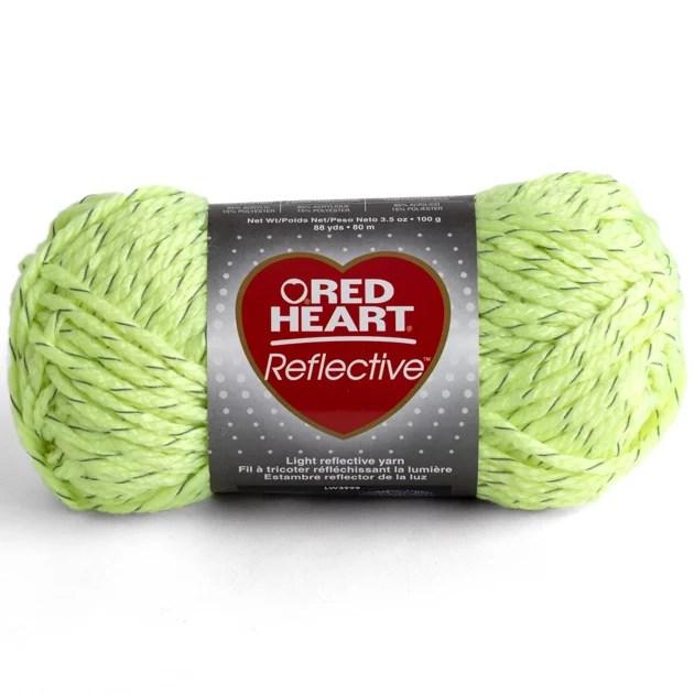 Red Heart Reflective Yarn Crochet Patterns