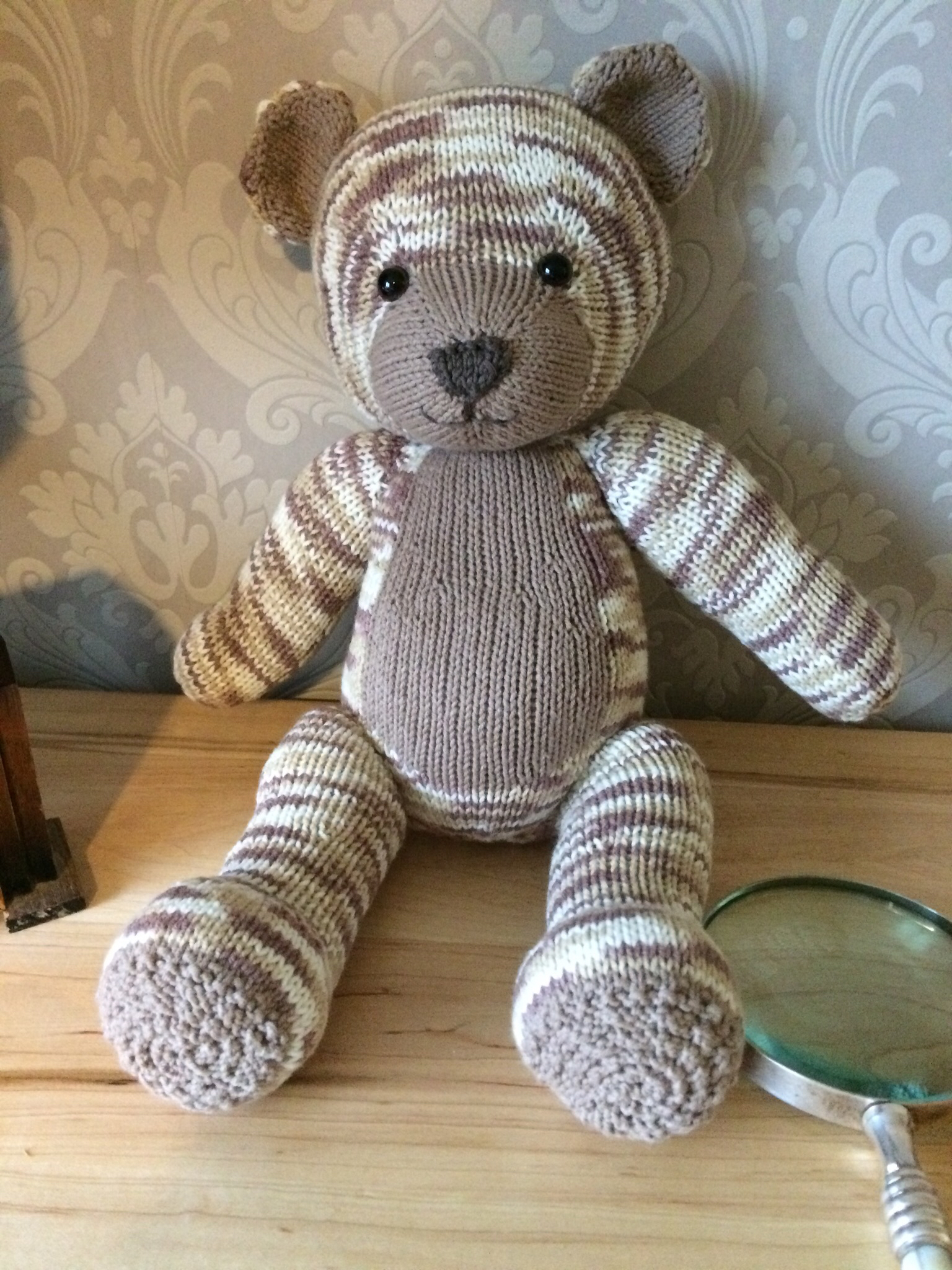 Knitables Teddy Bear Knitting Project By Susy J