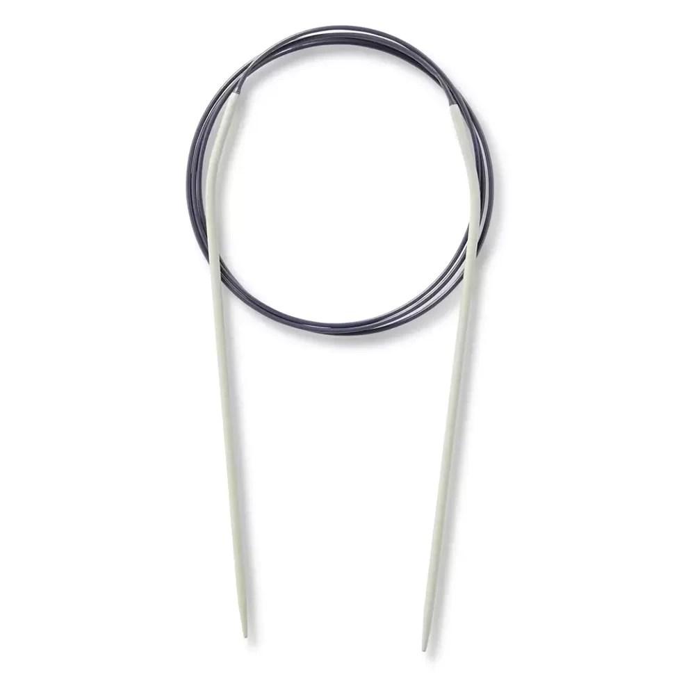 Prym Aluminium Fixed Circular Needles 100cm (40