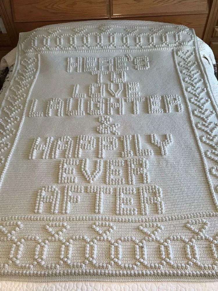 Wedding Afghan Crochet Pattern : wedding, afghan, crochet, pattern, Crochet, Wedding, Afghan