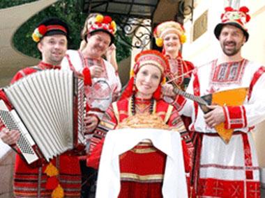 Хлеб да соль на свадьбе на руси