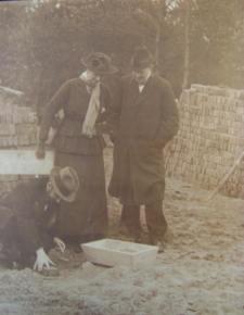 De eerste steenlegging