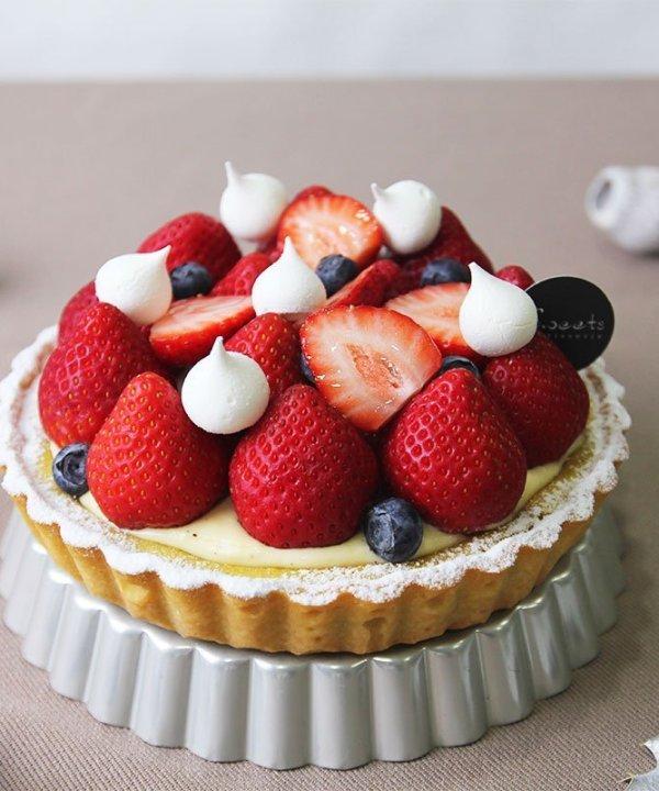 開心草莓塔 - iSweets Patisserie 愛甜食