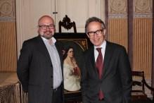 2016 júniusa, Finnország frissen kinevezett nagykövete Petri Tuomi-Nikula Iszkaszentgyörgyön