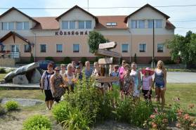 2016 júliusa, népes delegáció Iszkaszentgyörgy észt testvértelepüléséről, Köpuből