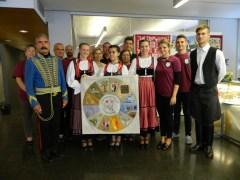 2016 augusztusa, iszkaszentgyörgyi delegáció a helsinki Balassi Intézetben