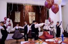 2016 decembere, Iszkaszentgyörgy Finnugor Kulturális Főváros 2016 zárórendezvénye, bemutatkoznak a falu néptáncosai