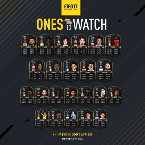 Ones To Watch