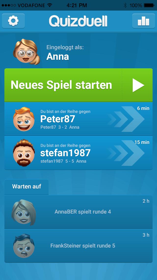 Spielen und chatten app