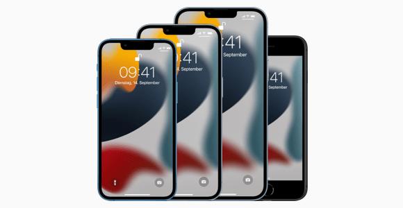 iPhone 13, iPhone 13 Mini, iPhone 13 Pro und iPhone 13 Pro Max
