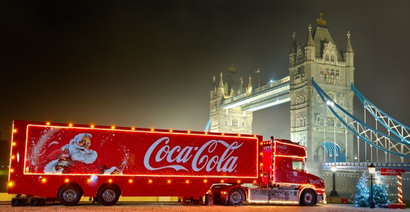 Coca-Cola Christmas Truck 2018 Tour Dates