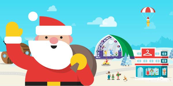 Google Santa Tracker für Android