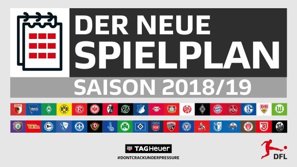 Spielplan der Bundesliga-Saison 2018-2019