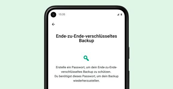 WhatsApp › Ende-zu-Ende-verschlüsselte Backups