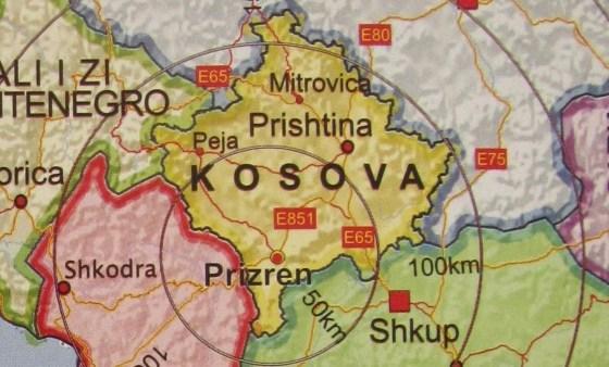 Harta e Kosovës