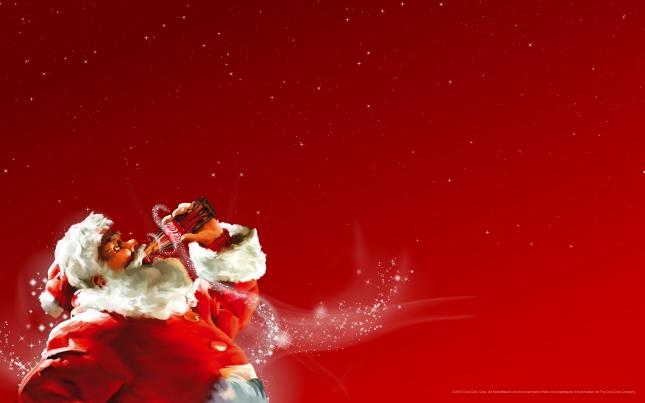 Weihnachten mit Coca-Cola