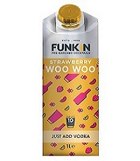 Funkin Strawberry Woo Woo 1L