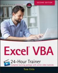 Excel VBA 24-Hour Trainer, 2nd Edition