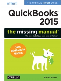 QuickBooks 2015: The Missing Manual