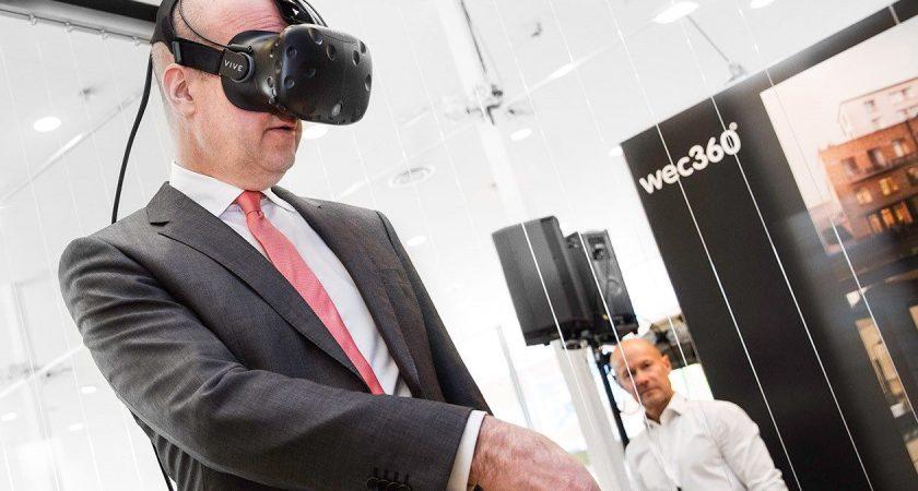 Reinfeldt: VR spelar en viktig roll i stadsutvecklingen