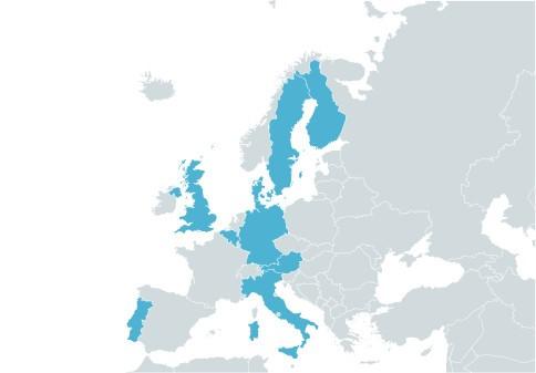 Succé för delning av bilar i Europa – nära en miljon européer väljer DriveNow
