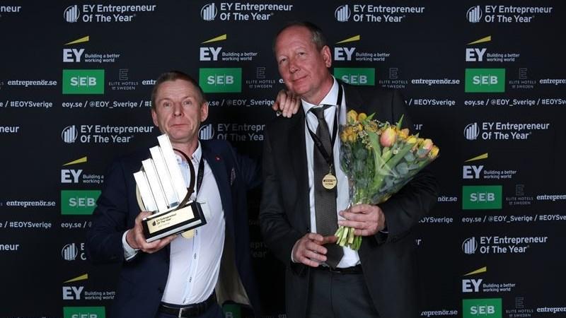 Claes Mellgren och Per Olof Andersson är Sveriges främsta entreprenörer
