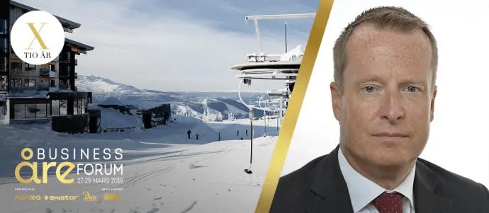 Energi- och digitaliseringsminister Anders Ygeman kommer till Åre Business Forum