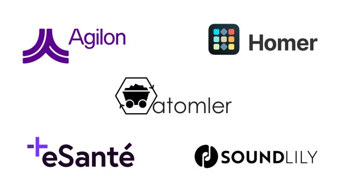 Fem startups antagna till sommarens omgång av Språngbrädan.