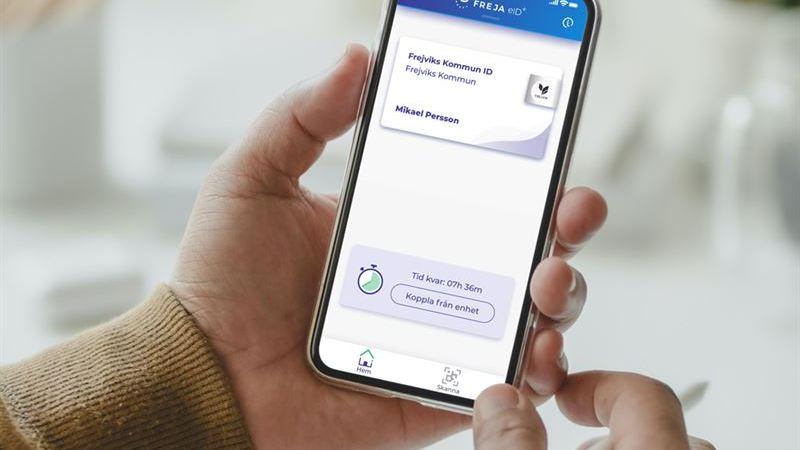 Freja eID lanserar e-tjänstelegitimation för pooltelefoner