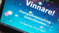 Digitaliserade fastigheter vinner energipris på Allmännyttans årliga konferens, Klimat- och Energikicken.