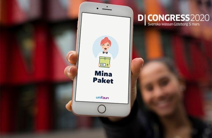 Unifaun och Mina Paket intar innovationsscenen på D-Congress 5 mars!