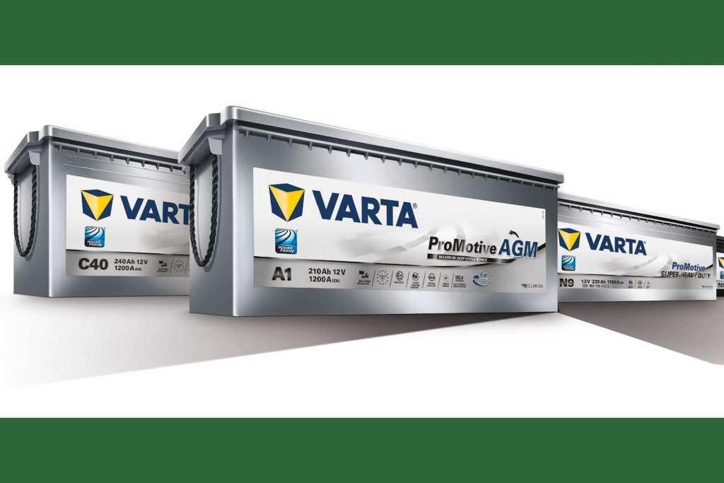 VARTA® ProMotive AGM: en nätdel för moderna kommersiella fordon 1