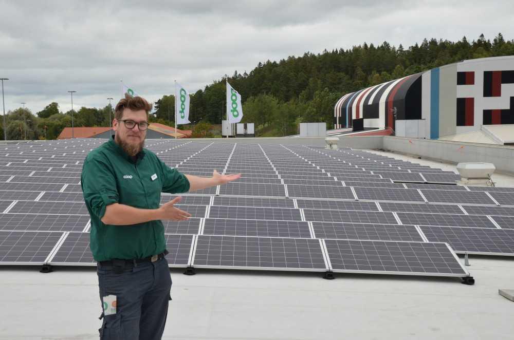 SPP och Coop inleder samarbete kring solcellsanläggningar 2