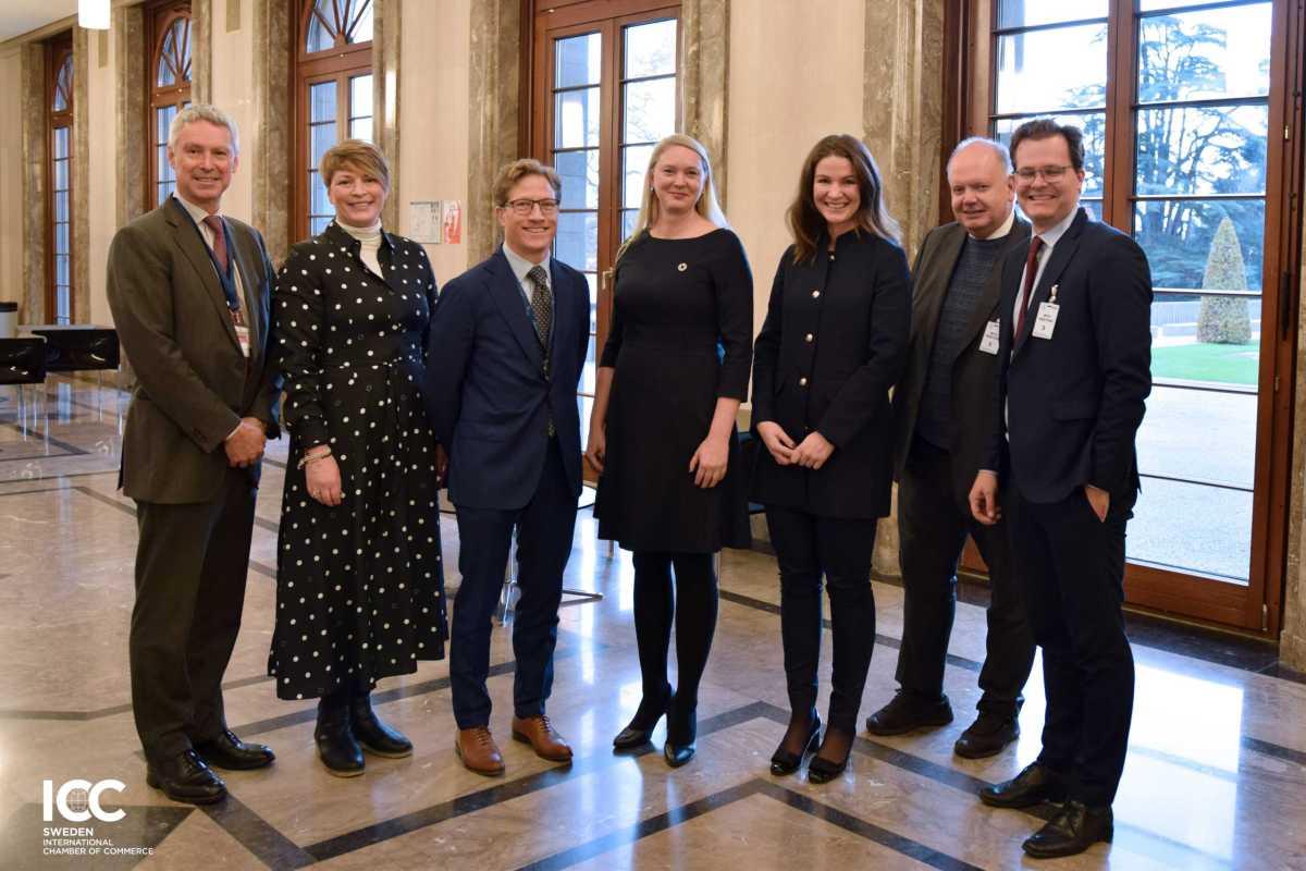 Svenska företag lyfte cirkulära utmaningar i WTO 1