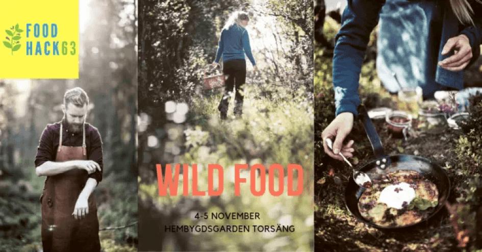 Wild Food är årets tema på Food Hackathon i Torsäng, 4-5 november 1