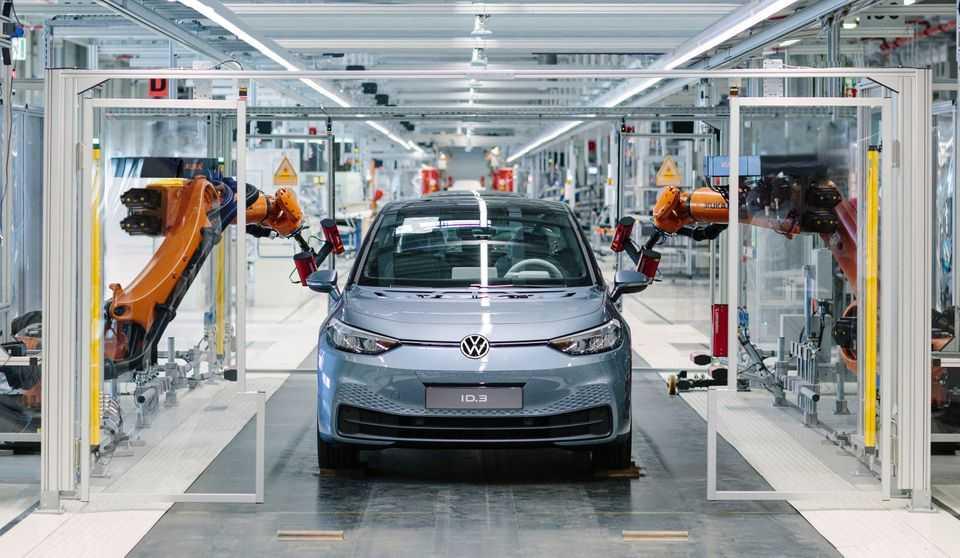 Produktionsstart för Volkswagens nya elbil ID.3 – systemskifte till e-mobilitet 1