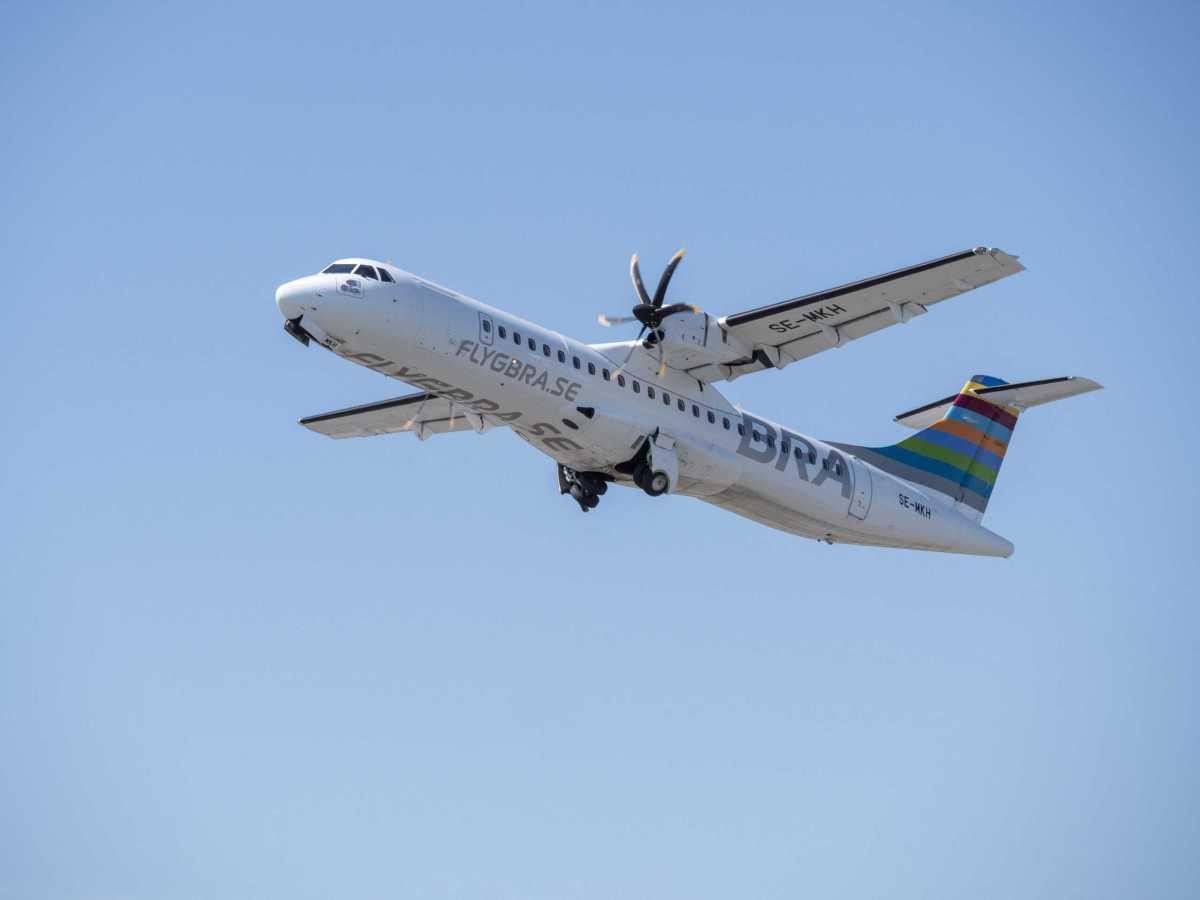 BRA:s klimatarbete bärande för världens första grönt finansierade passagerarflygplan 1